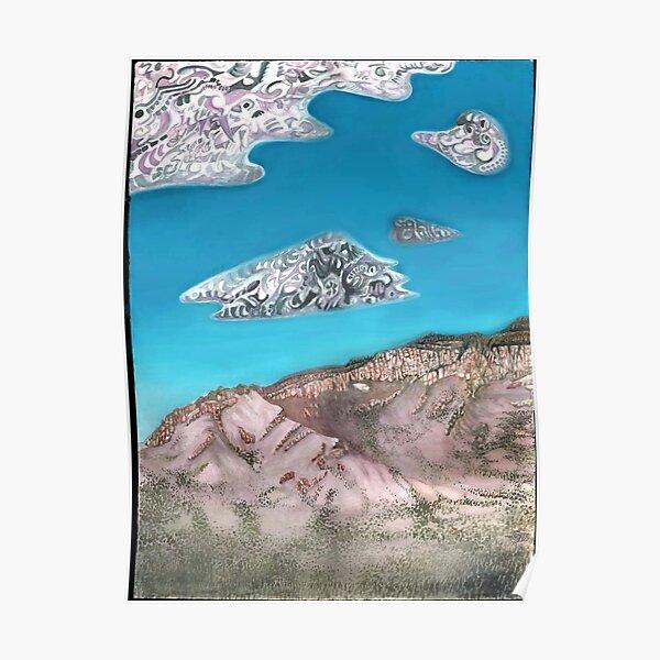 Watermellon Mountain Poster