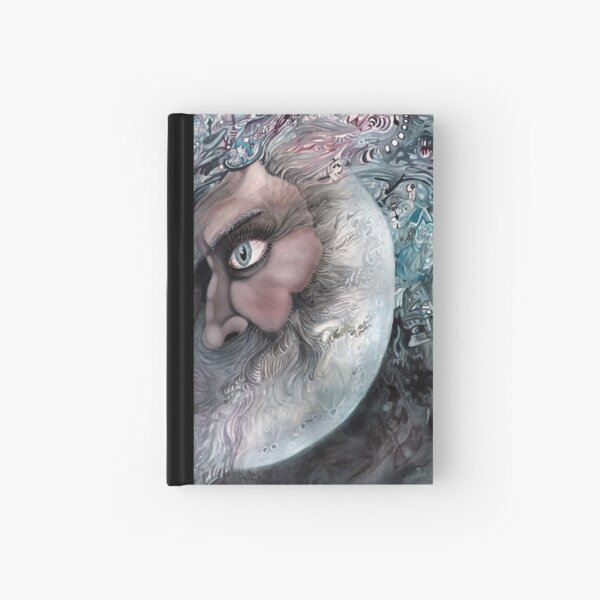 Moon in Man by Davol White Hardcover Journal