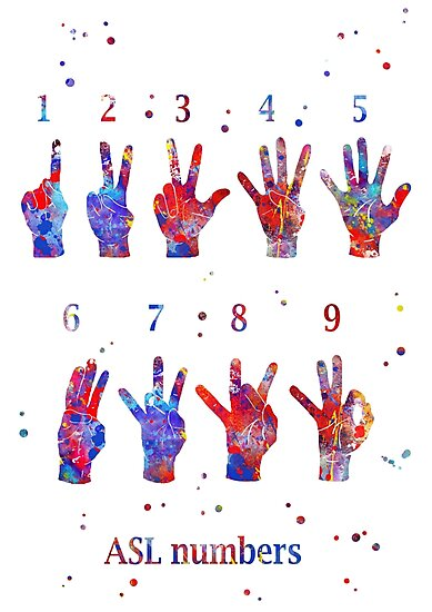 SIGN LANGUAGE NUMBERS EBOOK
