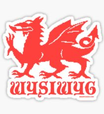 WYSIWYG Dragon Sticker