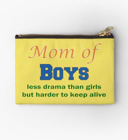 Mom of Boys Studio Pouch