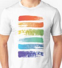 Rainbow brush Unisex T-Shirt