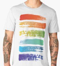 Rainbow brush Men's Premium T-Shirt