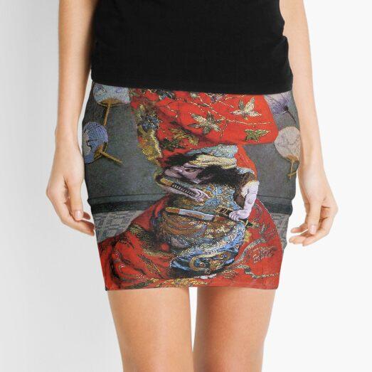 Camille Monet In Japanese Costume-Claude Monet  Mini Skirt