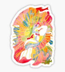 Abstrakt Sticker