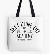 Jeet Kune Do - Martial Arts Style Developed By Bruce Lee Tote Bag