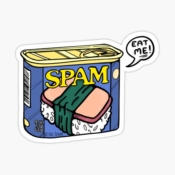 Rude Spam Sticker