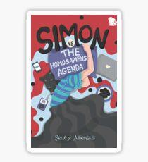 Love, Simon - Simon vs. the Homo Sapiens Agenda Sticker