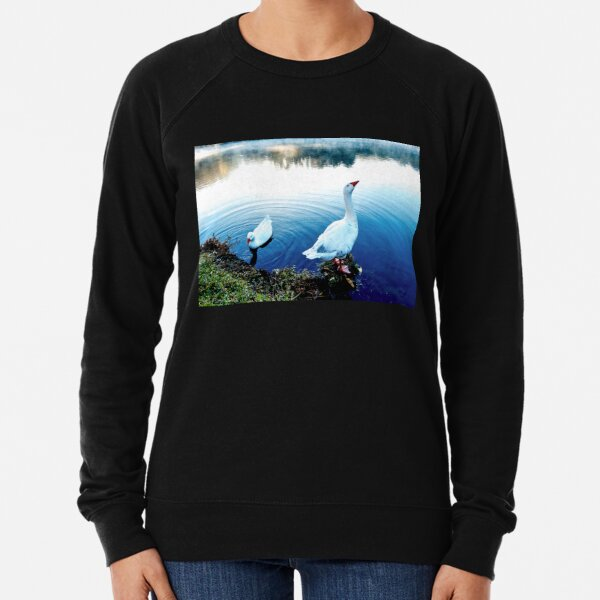 The Goose Crows At Dawn Lightweight Sweatshirt