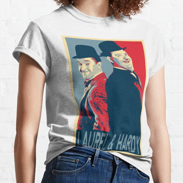 LAUREL AND HARDY, HOPE POSTER Classic T-Shirt