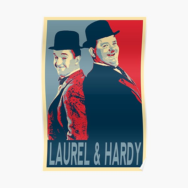 LAUREL AND HARDY, HOPE POSTER Poster