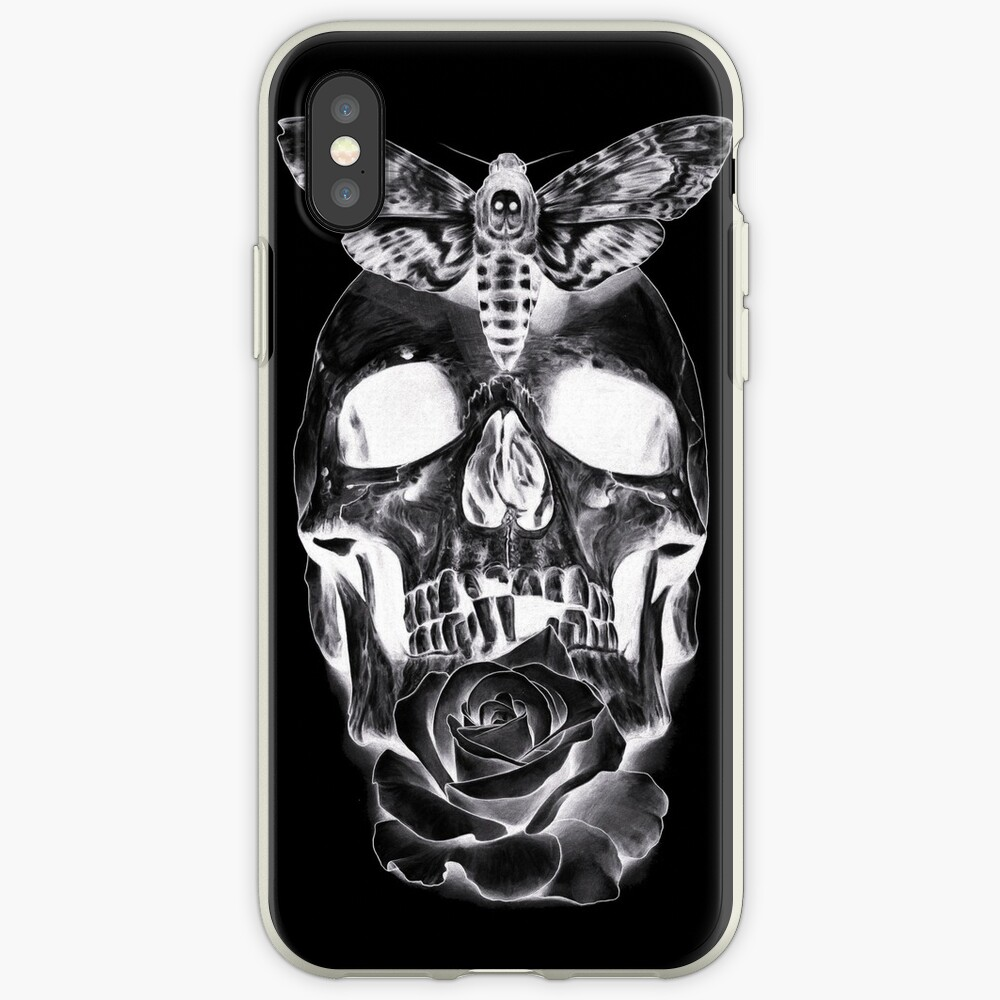 Rose & Skull iPhone Case & Cover