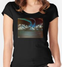 Open the Bifrost Women's Fitted Scoop T-Shirt
