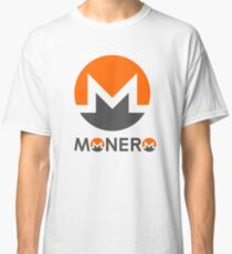 Monero Cryptocurrency Classic T-Shirt