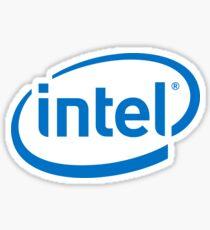 Intel Logo Sticker