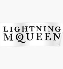 Lightning McQueen Poster