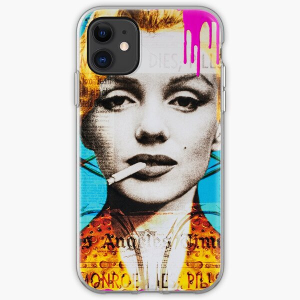Blame it on Marylin iPhone Soft Case