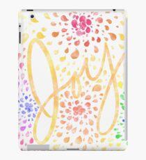 Joy Watercolor iPad Case/Skin