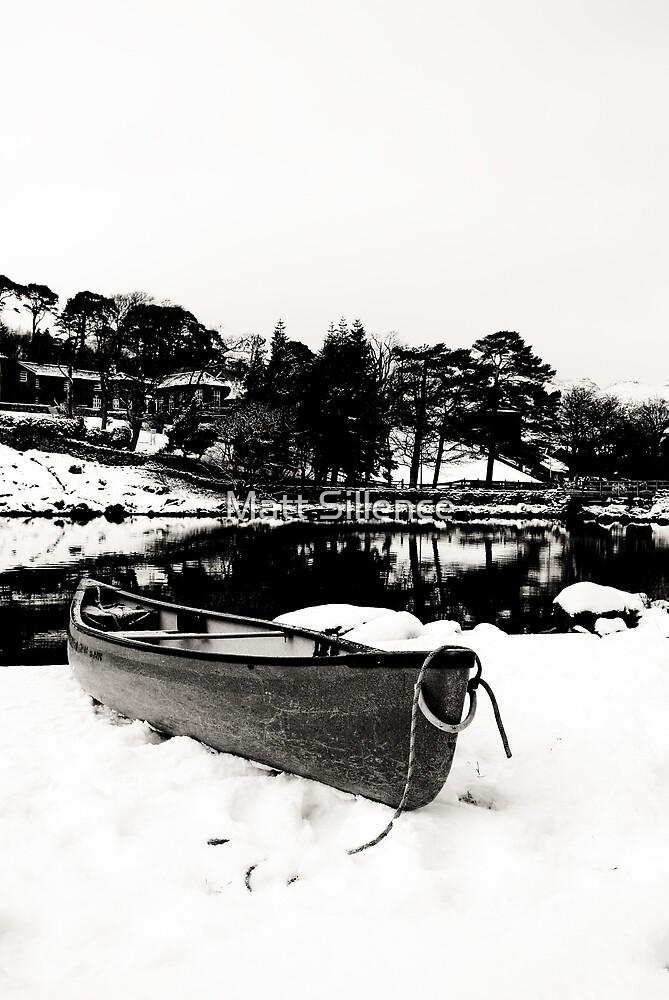 Canoe in Winter by Matt Sillence