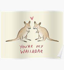 Wallabae Poster