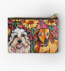 Mickey and Daisy Studio Pouch