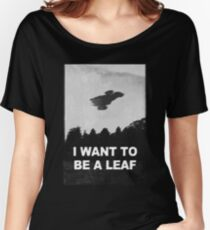 be leaf Women's Relaxed Fit T-Shirt