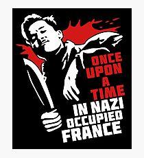 Lámina fotográfica Érase una vez en la Francia ocupada por los nazis