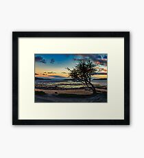 Rockcliffe Bay Sunset Framed Print