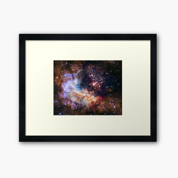 Westerland 2 - Hubble Space Telescope 25th Anniversary Image Framed Art Print