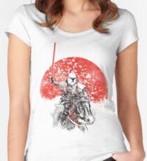 samurai trooper Women's Fitted Scoop T-Shirt