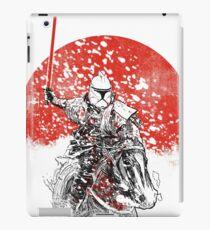 samurai trooper iPad Case/Skin