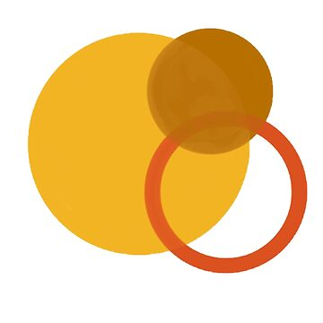 Yellow Circles by elfiesdesigns