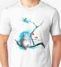 sumi-e totoro Unisex T-Shirt