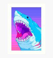 Shark Time Art Print