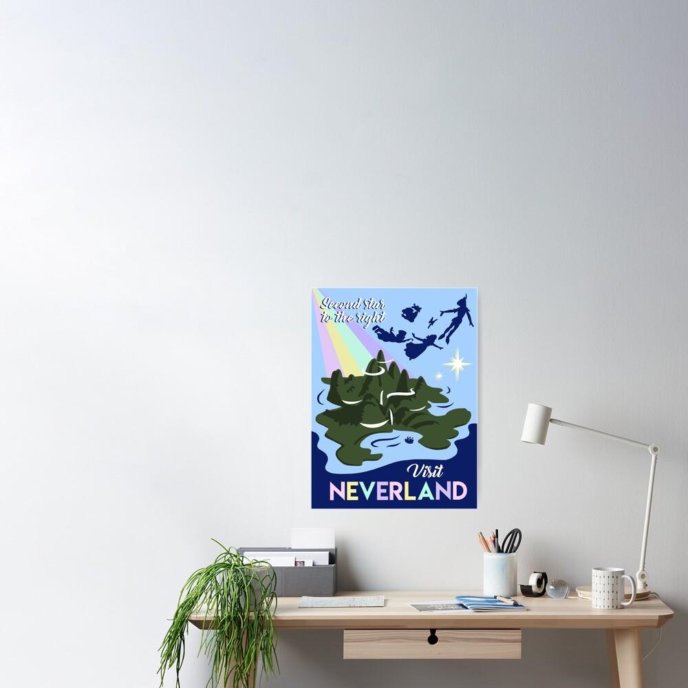 Visit Neverland Poster