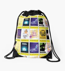 Broadway Playbills 27 Drawstring Bag
