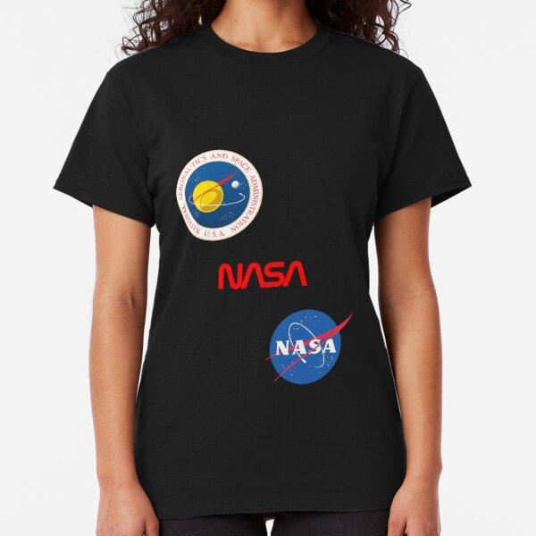 Three different official NASA logos Classic T-Shirt