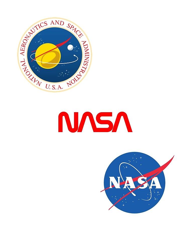 "NASA SPACE AGENCY STICKER ~ 3/"" VINYL Vector Logo Insignia  ** NEW **"