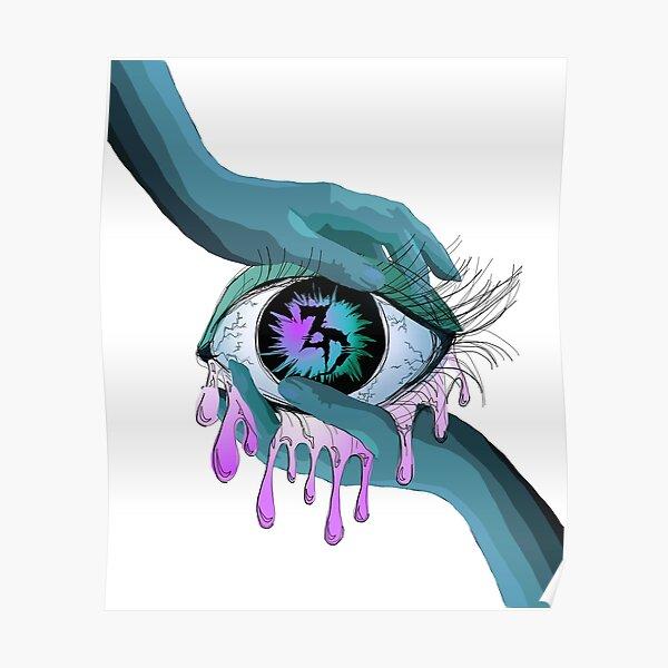 Zeds Dead EDM eye Art Poster