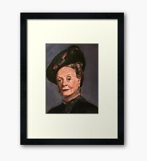 Violet Crawley Framed Print