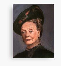 Violet Crawley Canvas Print