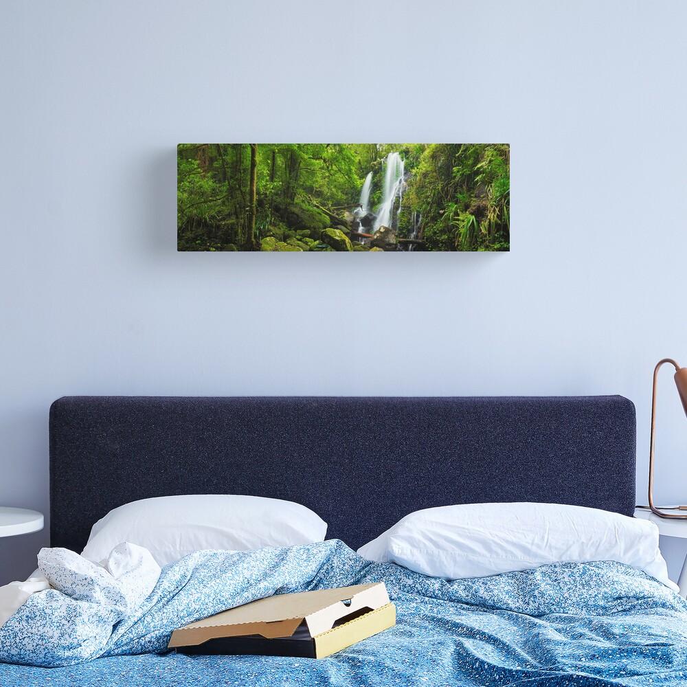 Chalahn Falls, Lamington National Park, Queesland, Australia Canvas Print