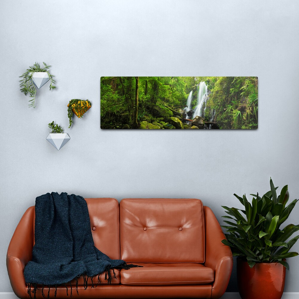 Chalahn Falls, Lamington National Park, Queesland, Australia Metal Print