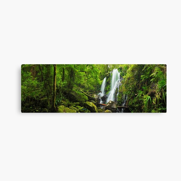 Chalahn Falls, Lamington National Park, Queesland, Australia Canvas Print