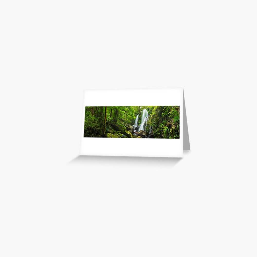 Chalahn Falls, Lamington National Park, Queesland, Australia Greeting Card