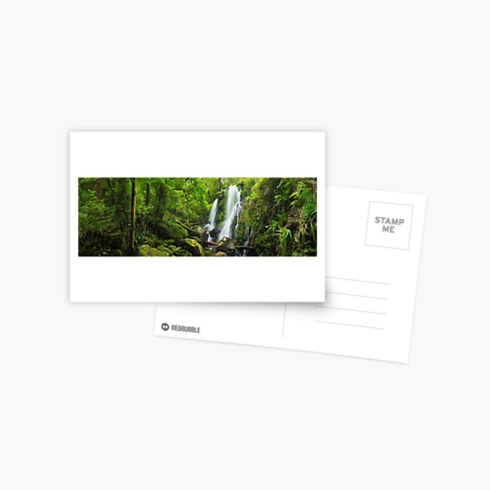 Chalahn Falls, Lamington National Park, Queesland, Australia Postcard