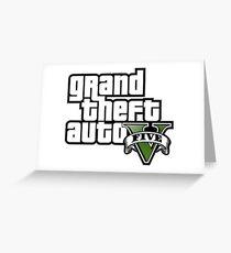GTA 5 Greeting Card