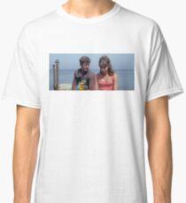 Pierrot Le Fou - Jean-Paul Belmondo & Anna Karina - Jean Luc Godard Classic T-Shirt