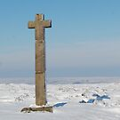 Ralph's Cross in the snow! by dougie1