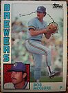 370 - Bob McClure by Foob's Baseball Cards